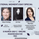 GS Womens Day Special Speakers