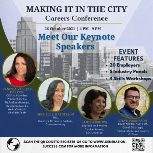 Making it In the City Careers Conference